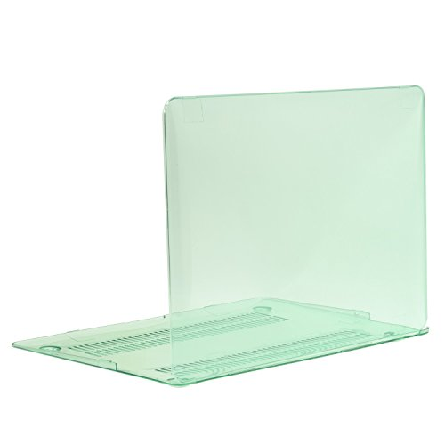 TOP CASE - Crystal See Thru Hard Case Cover Compatible with Apple MacBook Air 13