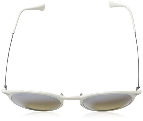 RB Ban Ray Light White Ray 4224 Round Sonnenbrille Xdpcw6