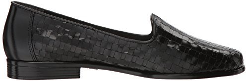 Liz M Women's Trotters Nero 12 pewter Loafer X544qS