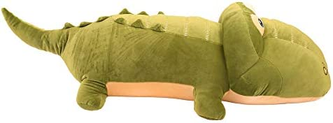 Fei Wen Alligator Stuff Plush Toy Stuffed Animal Toys Gift for Kids Child Girls Boys (130cm)