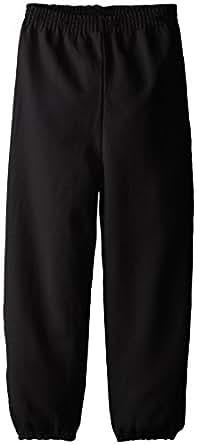 Hanes Little Boys' Eco Smart Fleece Pant, Black, x Small