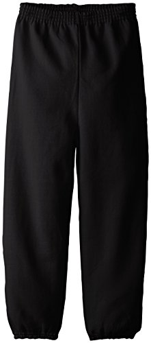 Hanes Big Boys' Eco Smart Fleece Pant, Black, (Black Sweatpants)