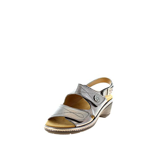 Sandales 33048 Bronce Silber Comfort 4 Gold Longo 7502 Pour Femme SwIqEp