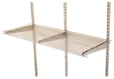 Rubbermaid FG5E2102SNCKL FastTrack® 4' Wire Shelf (Shelf Rubbermaid 4)