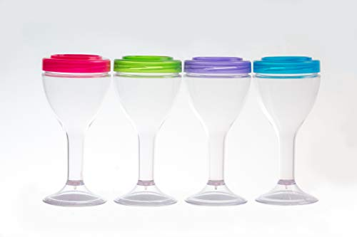 - Sip N Seal by Zipz is the resealable reusable plastic wine vessel that looks and feels like real glass!