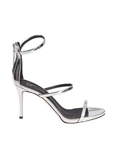Giuseppe Zanotti Design Femme I70050003 Argent Cuir Sandales