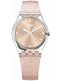 Originals Pinkindescent Rose Gold Dial Silicone Strap Ladies Watch LK354D