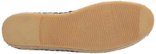 Soludos Slipper Women's Yucatan Ocean Smoking Flat Blue gq1gZrw