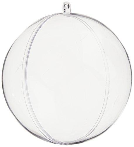 (Creativity Street Plastic Acrylic Globe, 4 in, Clear )