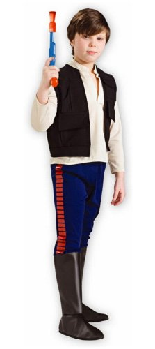 Han Solo Costumes For Kids - Deluxe Han Solo Child Costume - Large