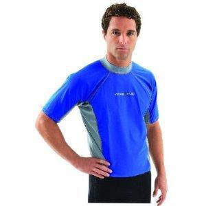 Hyperflex Adult Loose Fit Rash Guard, X-Small, (Polyolefin Rash Guard)