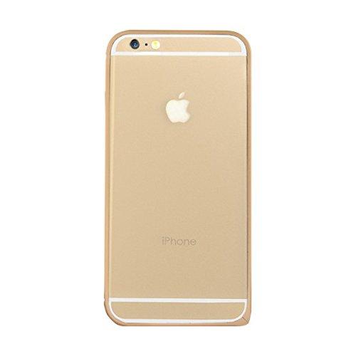 BigBen BC299752 Metal Schutz-Bumper in gold für Apple iPhone 6