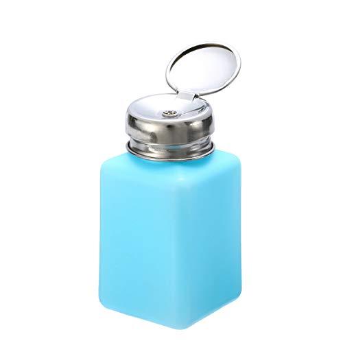 200ML Empty Pump Dispenser For Nail Art Polish Acrylic Liquid Bottle Tool (Color - ()