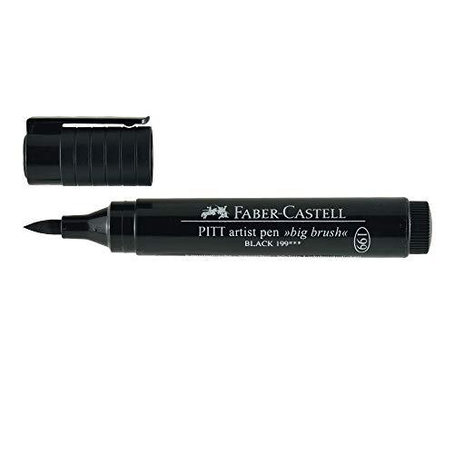 Faber-Castell Pitt Big Brush Artist Pens Black - Pitt Brush Castell Faber