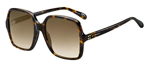 Givenchy 4G SQUARE GV 7123/G/S HAVANA/BROWN SHADED 55/19/145 women ()