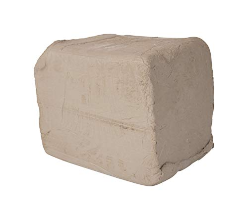 AMACO High Fire Moist Non-Toxic Stoneware Clay, 50 lb, Buff No. 46, - Clay Ceramic