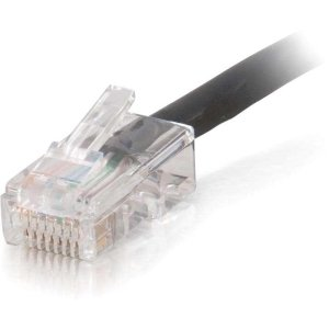 (C2G 35ft Cat5e Non-Booted Unshielded (UTP) Network Patch Cable (Plenum Rated) -)