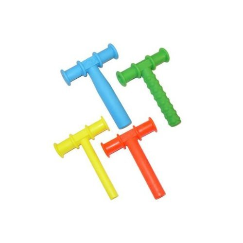 CHEWY TUBE MASTER COMBO PACK - 3 KNOBBY TEXTURE - 3 (BLUE) LARGE - 3 (RED) MEDIUM - 3 (YELLOW) SMALL All In Toy' s