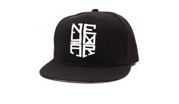 Amazon.com: Neymar JR Snapback Cap Njr Hat Hip Hop Sports Brazil Baseball Gorras Planas(C): Sports & Outdoors