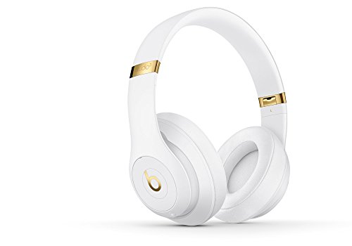 Beats by Dr. Dre Studio 3 Wireless Over-Ear Headphones with Built-in Mic - White (Renewed) from Beats