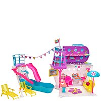 Barbie Pink Passport Cruise Ship Playset