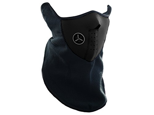 - Ski Mask Neck Warmer Balaclava Outdoor Sports Snow Mask (Black)
