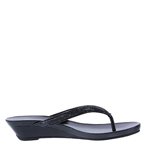 1dcea3535f Fioni Women's Quinn Embellished Low Wedge - Buy Online in Oman. | Apparel  Products in Oman - See Prices, Reviews and Free Delivery in Muscat, Seeb,  Salalah, ...