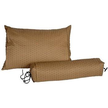 Amazon Com J Life Buckwheat Hull Neck Roll Pillow