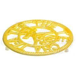 Circle of Tea Trivet, Mombasa Yellow