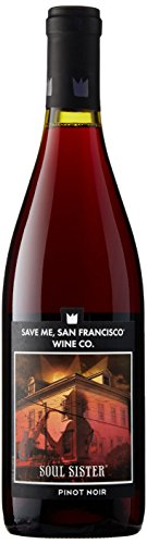 Save Me San Francisco Soul Sister Pinot Noir 750 mL Wine