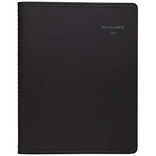 AT-A-GLANCE 2020 Monthly Planner/Appointment Book, QuickNotes, 8-1/4