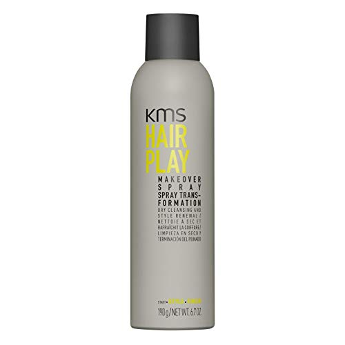 KMS HAIRPLAY Makeover Spray, 6.7oz (Pack of 3)