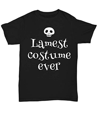TumD Lame Halloween Costume Shirt Lamest Ever Laziest