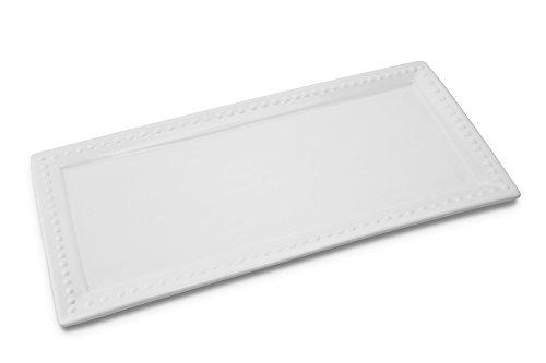 KOVOT Ceramic Rectangular Platter Set   3 Piece Porcelain Platter Set Includes (1) Large, (1) Medium, (1) Small by Kovot (Image #1)