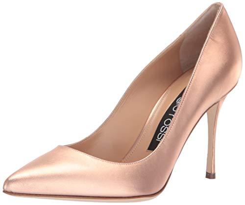 - Sergio Rossi Women's Godiva Pump Rose Gold 8