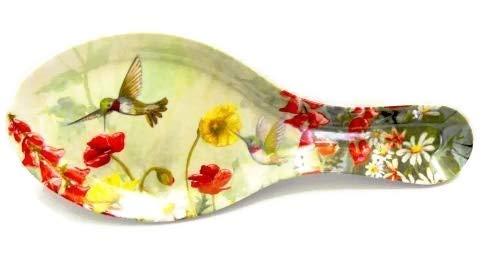 Hummingbird Garden Melamine Plastic Spoon ()