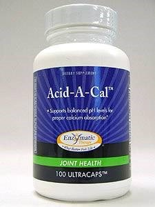 Acid-A-Cal - Enzymatic Therapy Inc. - 100 - Capsule