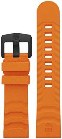Luminox Men's Navy SEAL Series Orange Rubber Watch Band