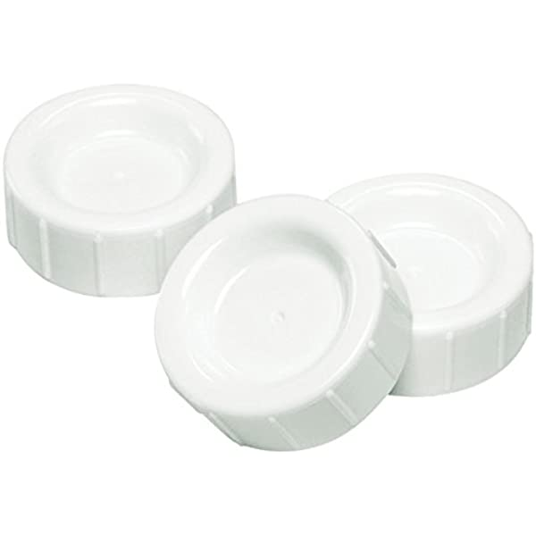 Dr Brown/'s Travel Storage Caps For Wide Neck Bottles Twin Pack