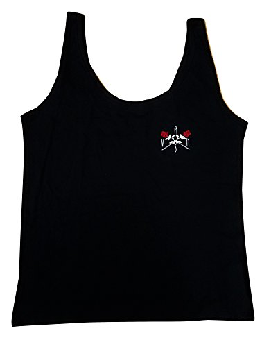Vans Women's Veil Graphic Tank Top Black/White/Red -