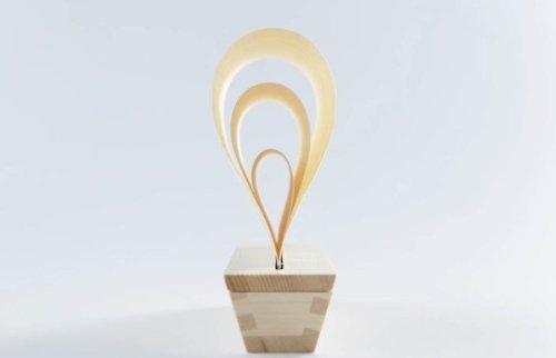 Natural Mast Humidifier Made From Japanese Cypress Hinoki Wood by Masuza (Image #1)