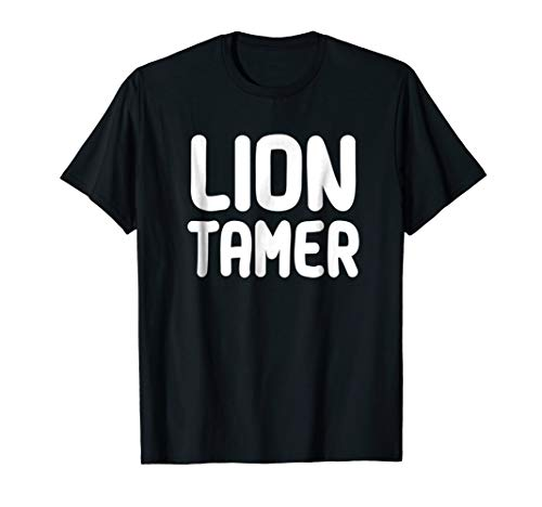 Lion Tamer Costume Shirt Mens Womens