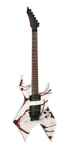 B.C. Rich JJSW2 Electric Guitar, Blood Splatter