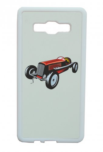 "Smartphone Case Apple IPhone 5C ""hot Rod Sportwagen Oldtimer Young Timer Shellby Cobra GT Muscel Car America Motiv 9829"" Spass- Kult- Motiv Geschenkidee Ostern Weihnachten"