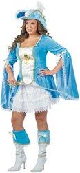 [Women's Costume: Madam Musketeer-Plus PROD-ID : 1464274] (Women Musketeer Costumes)