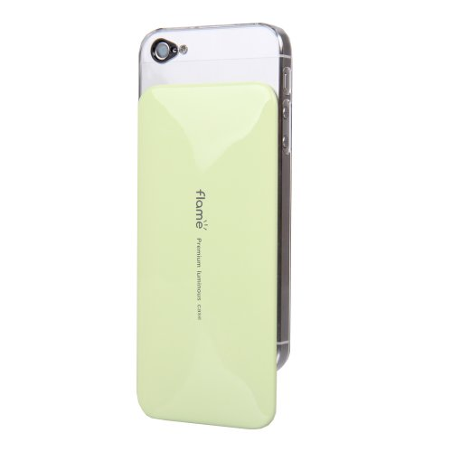 VanD Style Flashing Case for the iPhone 5/5S - Retail Packaging - Green