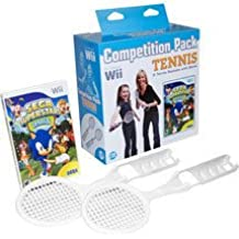 Wii, Sega Superstars Tennis Compitition Pack, 2 Rackets