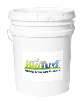 BioTurf BioS+ 5G Pail of Artificial Turf Pet Odor Eliminator and All Purpose Surface Cleaner. Our BioS+ Enzyme Technology Allows The Product to be Very Friendly to All Surfaces Including Tile.
