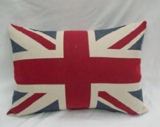 Cojin de loneta ENGLAND, 45x60, fabricado en España.: Amazon.es: Hogar