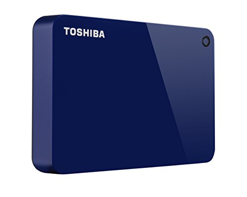 Toshiba Canvio External Hard Drive USB 3.0 4TB blue HDTC940XL3CA